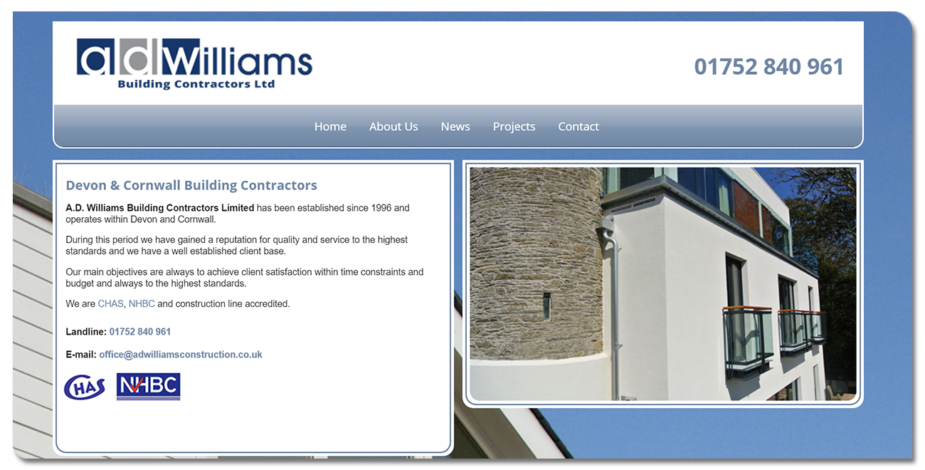 A.D. Williams Building & Civil Engineering Contractors Limited